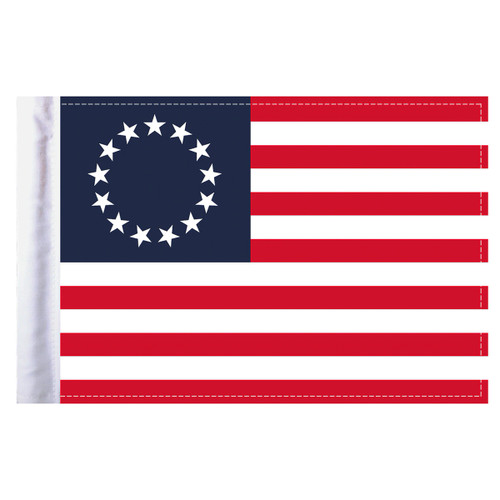 """Betsy Ross Motorcycle Flag - 6"""" x 9"""""""