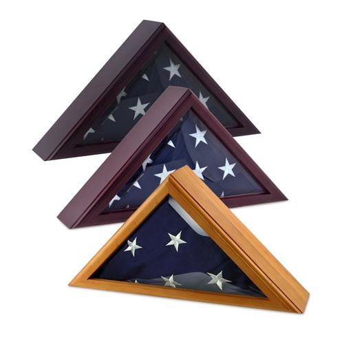 Cadet III Flag Display Case for 3ft x 5ft Flag - Imported