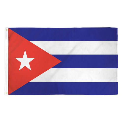 Cuba 3ft x 5ft Oxford Polyester Flag