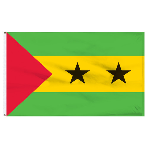 Sao Tome and Principe 2' x 3' Nylon Flag