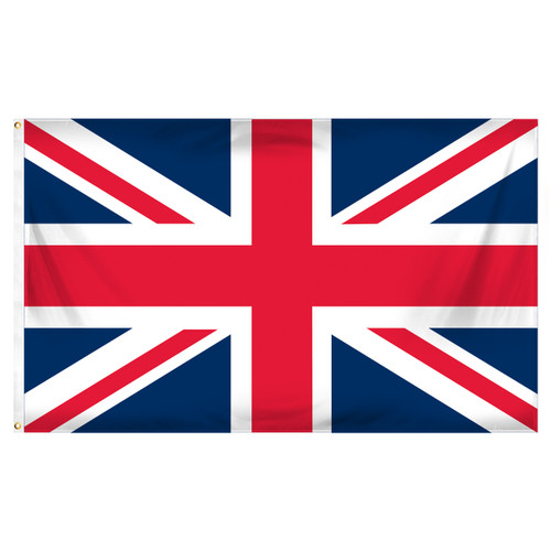 3ft x 5ft United Kingdom Flag - Printed Polyester