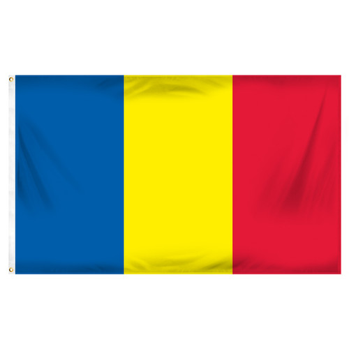 3ft x 5ft Romania Flag - Printed Polyester