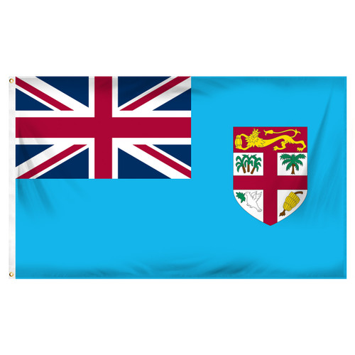 3ft x 5ft Fiji Flag - Printed Polyester