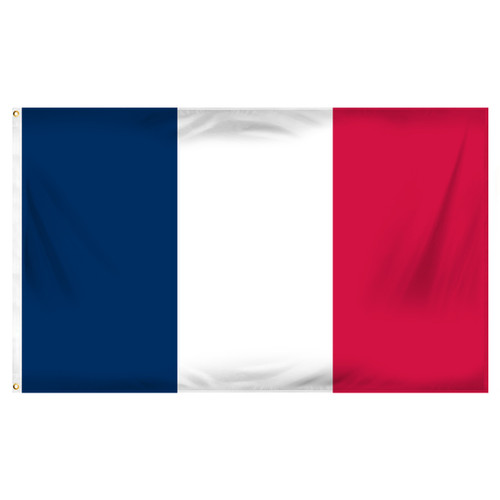 3ft x 5ft France Flag - Printed Polyester