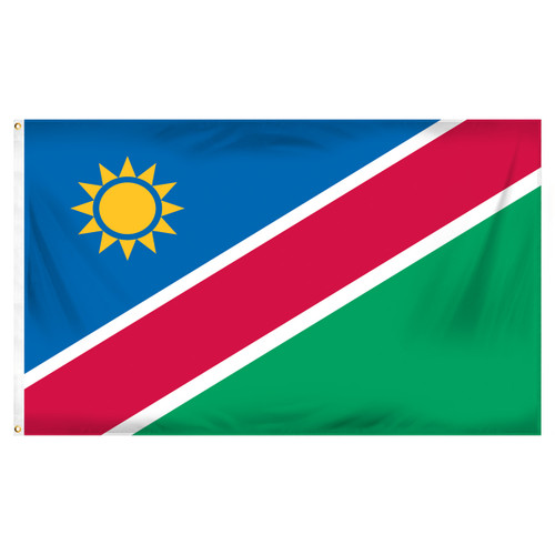 3ft x 5ft Namibia Flag - Printed Polyester
