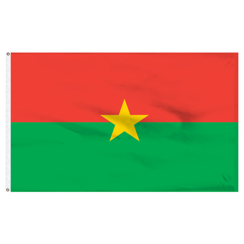Burkina 4' x 6' Nylon Flag