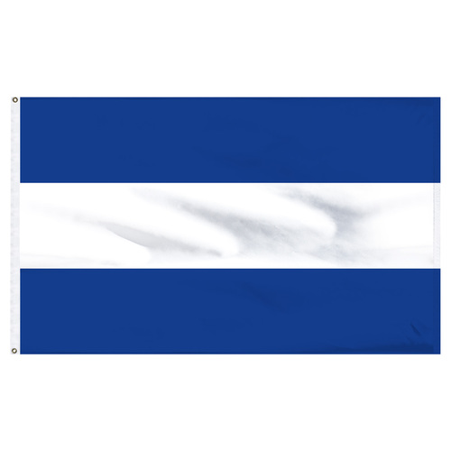El Salvador 4' x 6' Nylon Flag - No Seal
