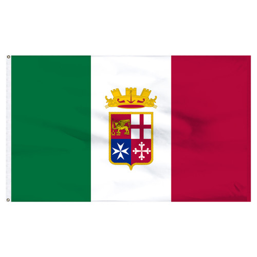 Italian Ensign 4' x 6' Nylon Flag