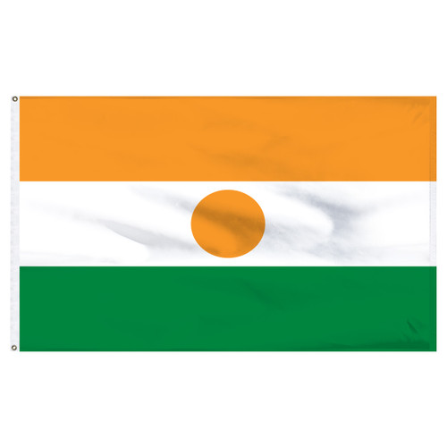 Niger 4' x 6' Nylon Flag