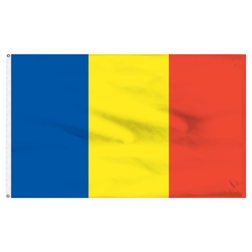 Andorra 5' x 8' Nylon Flag - No Seal
