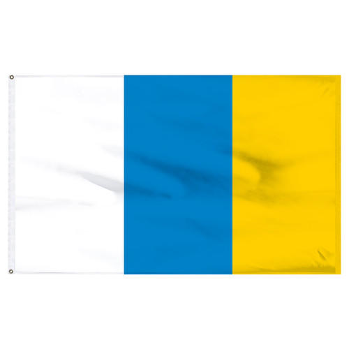 Canary Islands 5' x 8' Nylon Flag