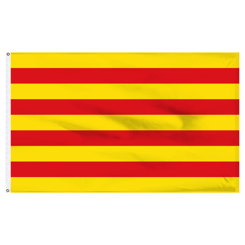 Catalonia 5' x 8' Nylon Flag