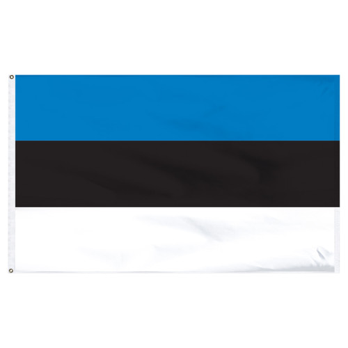 Estonia 5' x 8' Nylon Flag