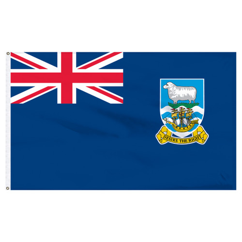Falkland Islands 5' x 8' Nylon Flag