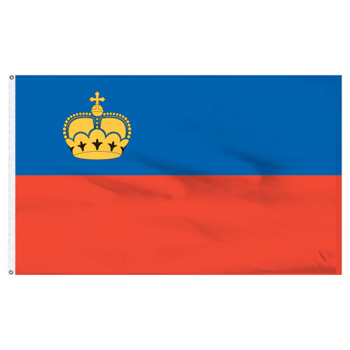 Liechtenstein 5' x 8' Nylon Flag