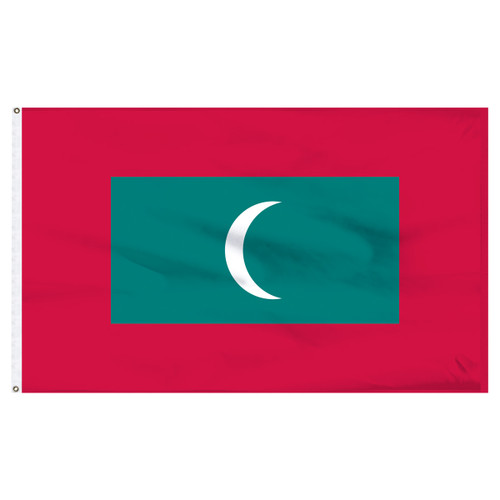Maldives 5' x 8' Nylon Flag