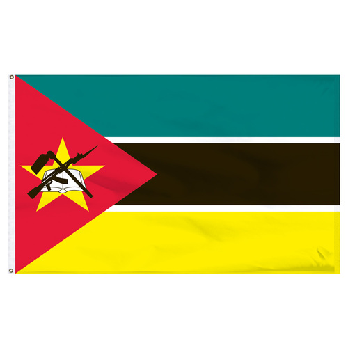 Mozambique 5' x 8' Nylon Flag