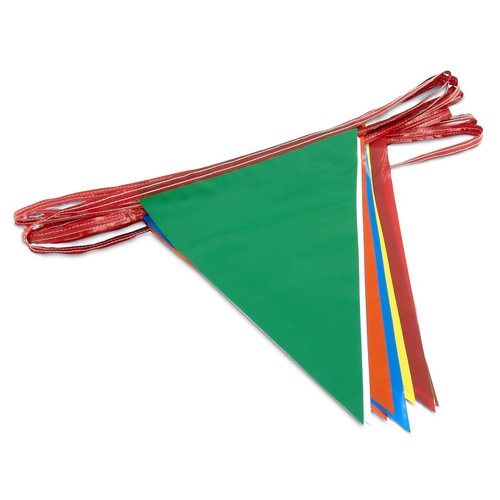 Multi-Color Pennant Flags