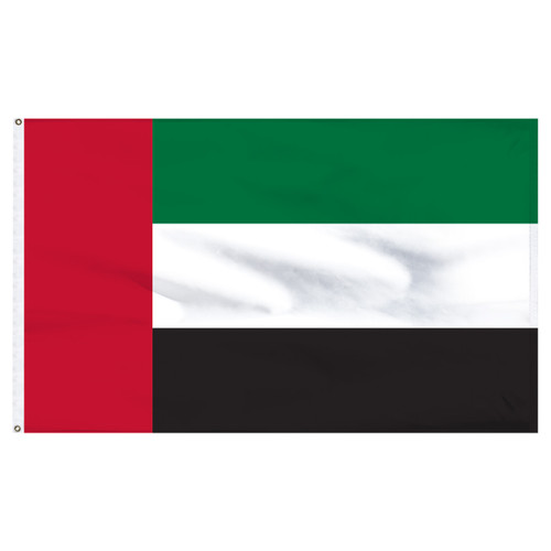 United Arab Emirates 5' x 8' Nylon Flag