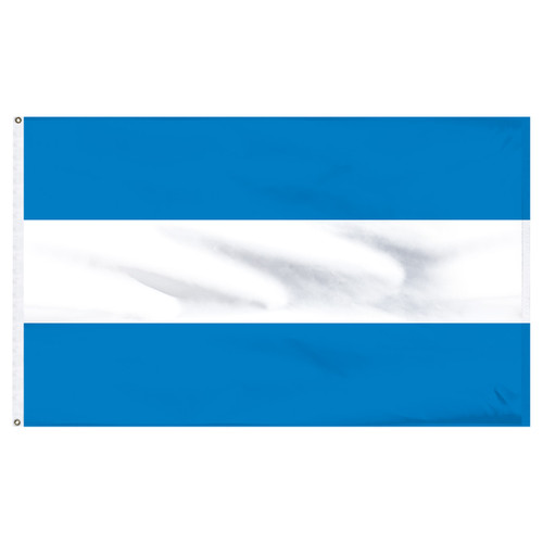 "Argentina 12"" x 18"" Nylon Flag - No Seal"