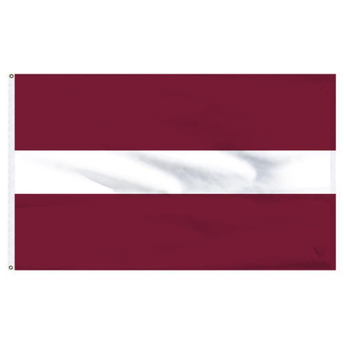 "Latvia 12"" x 18"" Nylon Flag"