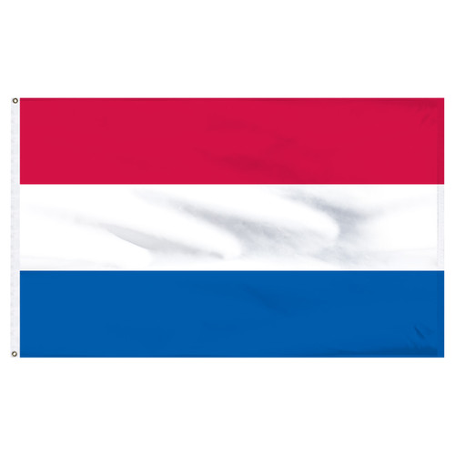 "Netherlands 12"" x 18"" Nylon Flag"