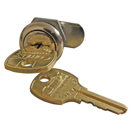 Lock and Key for Internal Halyard Doors