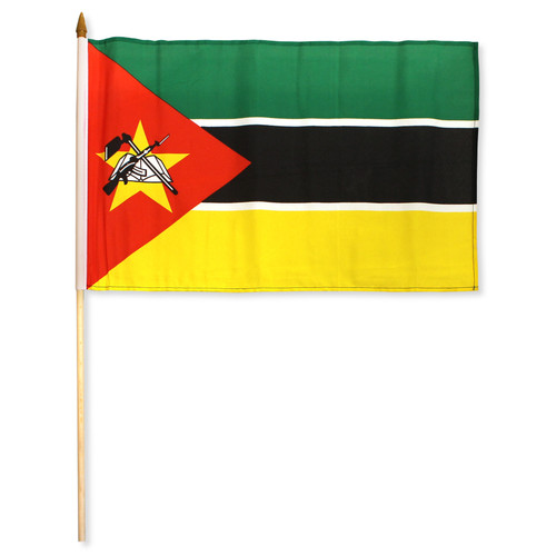 Mozambique Flag 12 x 18 inch
