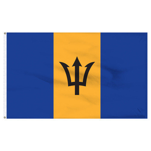 Barbados 6' x 10' Nylon Flag