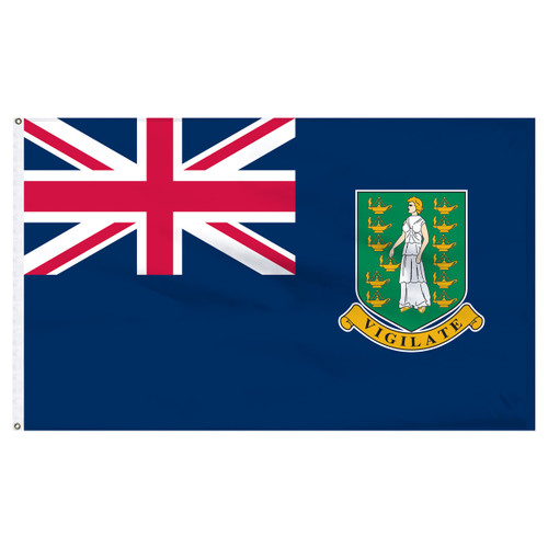 British Virgin Islands 6' x 10' Nylon Flag