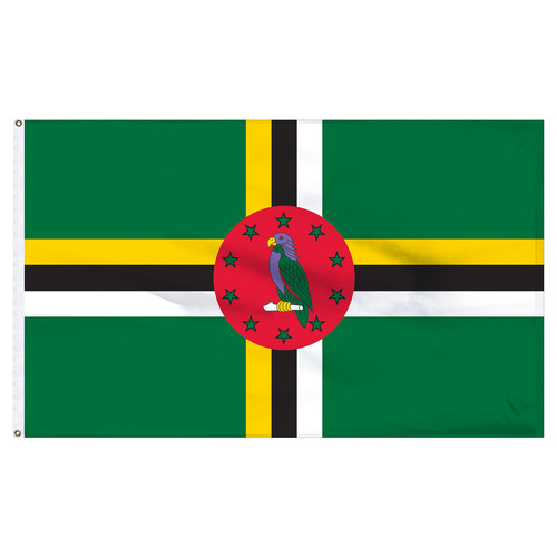 Dominica 6' x 10' Nylon Flag