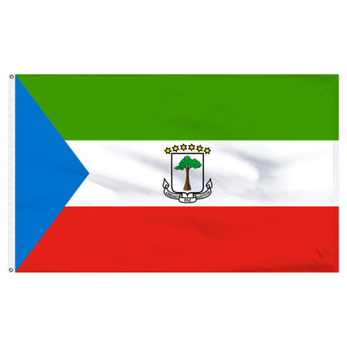 Equatorial Guinea 6' x 10' Nylon Flag