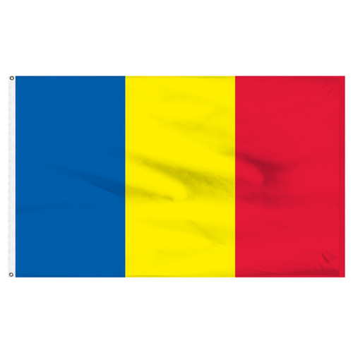 Romania 6' x 10' Nylon Flag