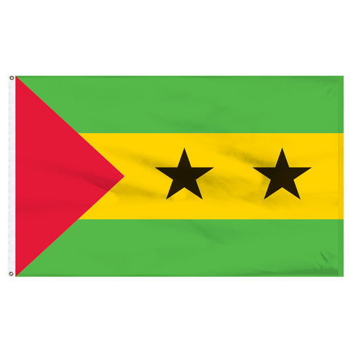 Sao Tome and Principe 6' x 10' Nylon Flag