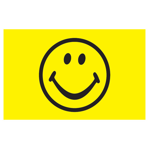 3ft x 5ft Decorative Flag - Smiley