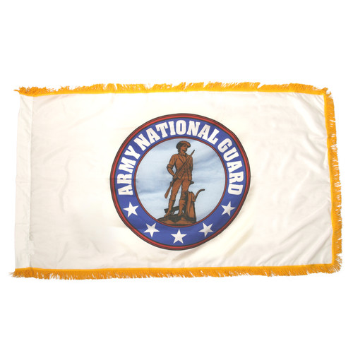 Indoor Army National Guard Flag 3ft x 5ft Nylon