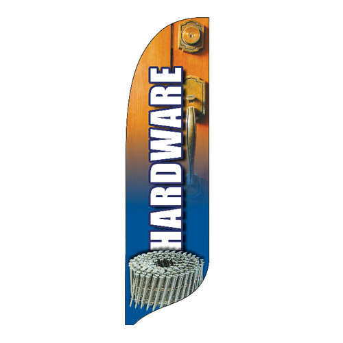 Outdoor Advertising Blade Flag - Hardware