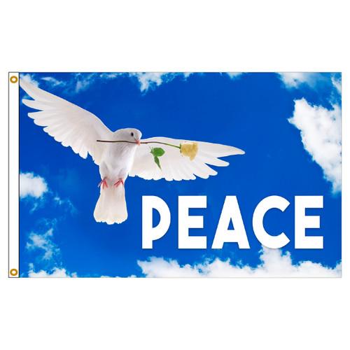 3ft x 5ft Decorative Flag - Peace