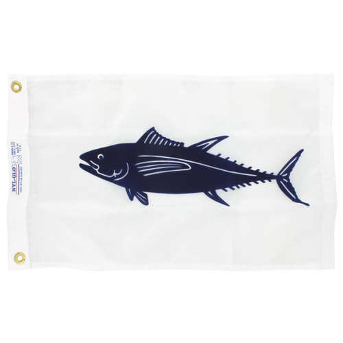 12in x 18in Nylon Tuna Flag