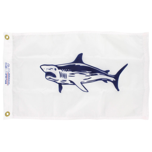 12in x 18in Nylon Shark Flag