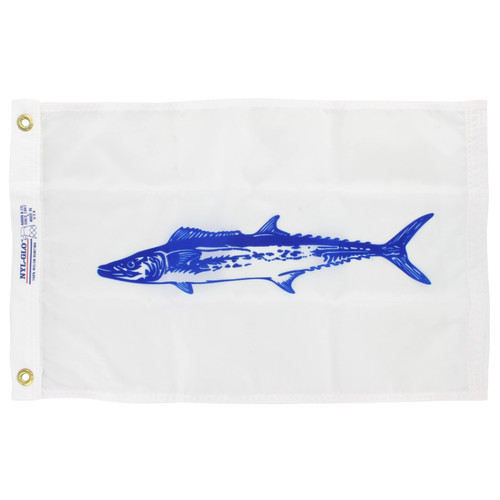 12in x 18in Nylon King Mackerel Flag