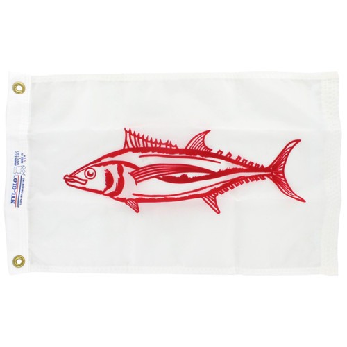 12in x 18in Nylon Albacore Flag