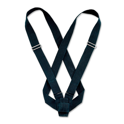 Double Strap Black Web Carrying Belt