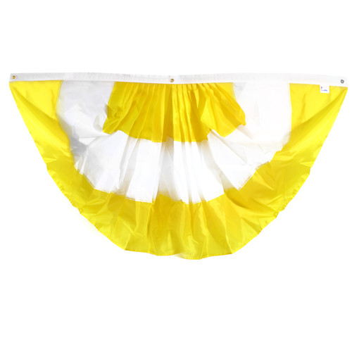Vatican Pleated Fan Bunting