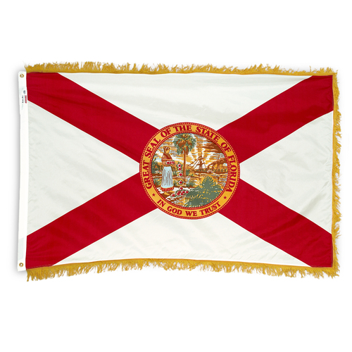 Indoor Florida Spec Flag 4ft x 6ft Nylon