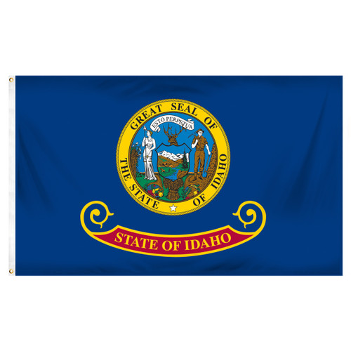 Idaho 5ft x 8ft Spun Heavy Duty Polyester Flag