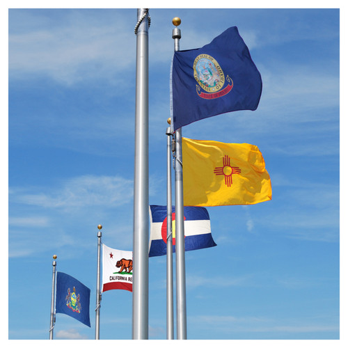 Complete Set of 4ft x 6ft Sewn Polyester State Flags