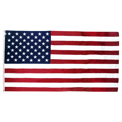 G-SPEC Small 2ft 4 7/16in x 4ft 6in American Cotton Flag - Government Flags