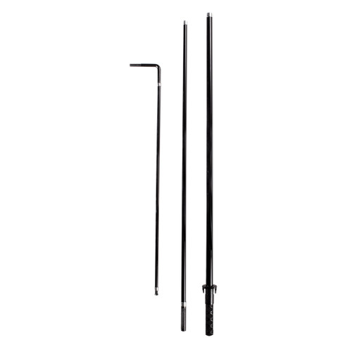 Rectangle Flag Carbon Fiberglass Pole - 7ft