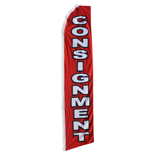 Consignment Swooper Flag